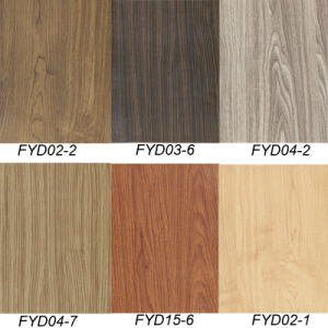 Walnut Wood WPC PVC Vinyl Floor Tile (FYD-02-2) pictures & photos