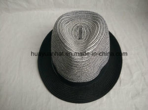 90% Paper 10%Polyester with Gentleman Style Fedora Hats