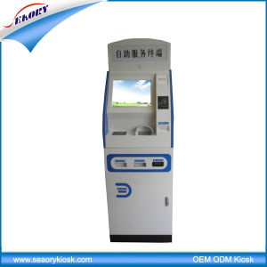 2015 Hot Sale Touch Screen Kiosk Machine with Card Reader, Bill Payment Kiosk pictures & photos