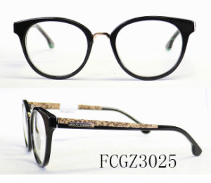 Round Shape of Acetate Optical Frame Popular Model (Ce) pictures & photos