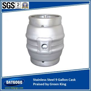 Stainless Steel 4.5 Gallon Cask Hot Saled in UK pictures & photos
