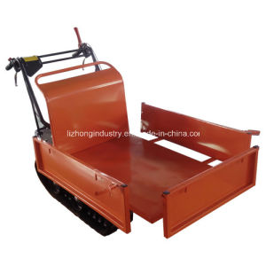6.5HP 300kgs Manual Tipping Self-Loading Mini Dumper, Garden Mini Dumper, Manual Tipping Mini Truck Dumper (300A) pictures & photos