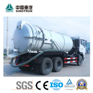 Popular Model HOWO King Fecal Suction Truck (10-12m3) pictures & photos