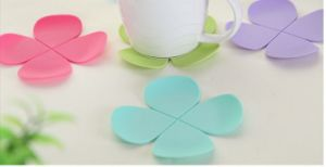 Fashion Flower Shape Coaster (BR-HP-029) pictures & photos