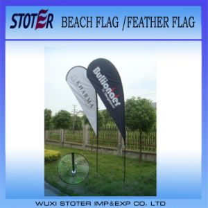 Polyester Side Printed Promotion Teardrop Flags/Banners pictures & photos