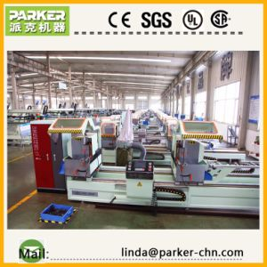 CNC Double Head Mitre Saw for Window Machine pictures & photos