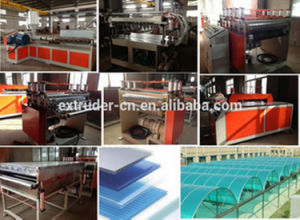 PC Hollow Plate Extrusion Line/Machine pictures & photos