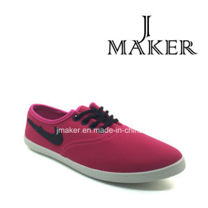 Good Looking Women Flat Canvas Shoes (JM2010-L) pictures & photos