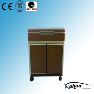 2 Doors High Quality ABS Hospital Medical Bedside Locker (K-11) pictures & photos
