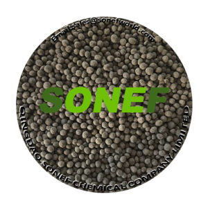 Humic Acid Black Particles Organic Fertilizer Manufacturers in China pictures & photos