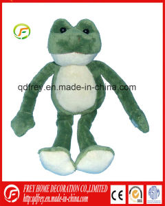 Green Stuffed Frog Toy for Promotion Toy