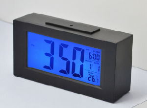 Hotel Digital Alarm Clock with LCD Display pictures & photos