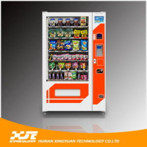 Snacks Vending Machine Embedded with Credit Card Reader pictures & photos