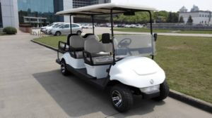 Chinese 6 Flip Flop Seat Electric Golf Kart with CE Certification pictures & photos