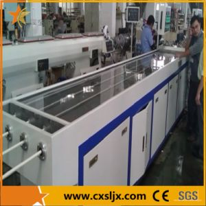 One Mold Four Cavities PVC Pipe Extrusion Line pictures & photos