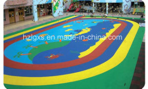 SGS Approved Safety EPDM Granule Rubber Flooring for Kids′playing pictures & photos