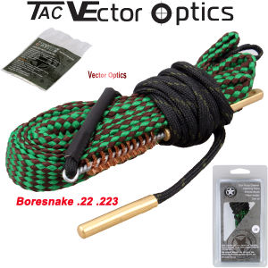 Wholesale Best Boresnake / Bore Snake. 22 5.56.223 Ar15 M4 M16 Barrel Rifle Pistol Handgun Shot Gun Cleaning Cleaner Kit Maintenance with Bronze Brush Gun Oil pictures & photos
