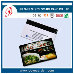 ISO Cr80 PVC Magnetic Stripe Card pictures & photos