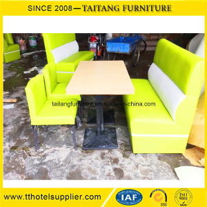 Fast Food Restaurant Table Sofa Furniture Set pictures & photos