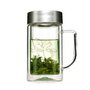 Fuguang 700b-320 320ml Borosilicate Tea Glass Mug pictures & photos