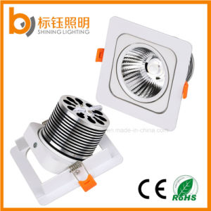 10W Indoor Lighting AC85-265V Move Head COB LED Ceiling Lamp pictures & photos
