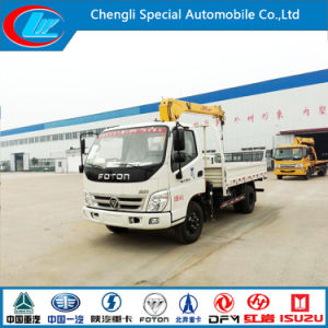 10 Wheel Cargo Truck with Crane pictures & photos