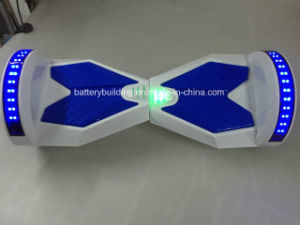 Adult Two Wheel Self Balance Scooter with LED Light and Bluetooth pictures & photos