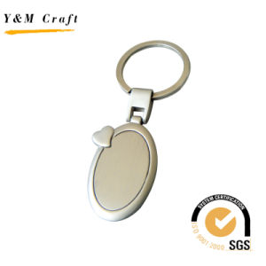 Newest Wholesale Factory High Quality Blank Metal Keychains pictures & photos