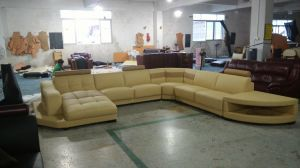 Germany Design U Shape Leather Sofa Hot Sale Leather Sofa pictures & photos