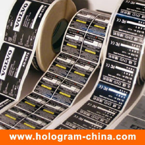 Custom Roll Printed Self Adhesive Sticker Label pictures & photos