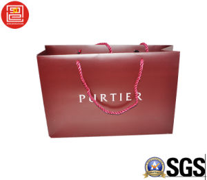 High-End Matt Lamination Shopping Bag, Carrierr Bag with Logo Printied Wholesale