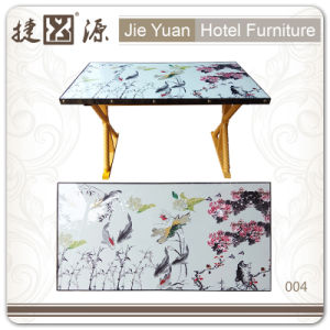 Wholesale Factory Fasionable Western Dining Table for Hotel (004) pictures & photos