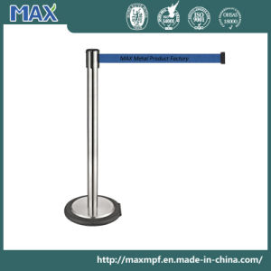 Stainless Steel Roller Retractable Belt Stanchion pictures & photos