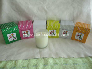 Luxury Scented Glass Candle in Cardboard Box