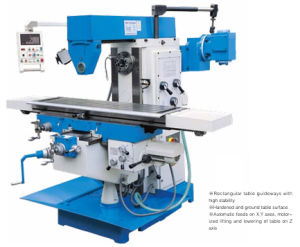 Universal Knee-Type Milling Machine (XW6032T) pictures & photos