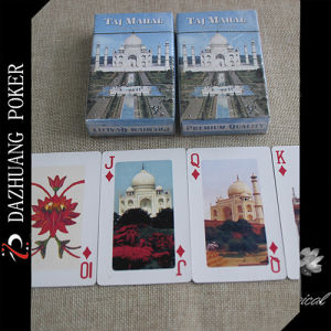 Premium Quality Taj Mahal Playing Cards pictures & photos