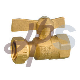 Forging Brass Lockable Ball Valve Factory for Europe Market pictures & photos