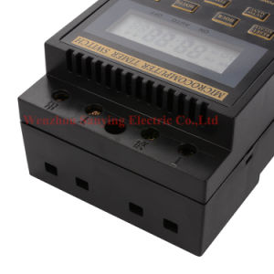 LCD Digital Manual Automatic Microcomputer Timer Switch AC220V Kg316t Te423 pictures & photos