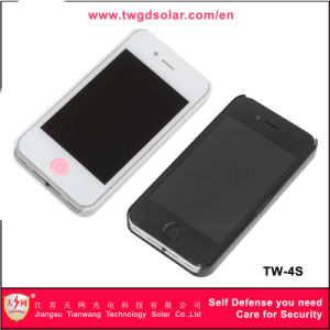 Mobile Phone Type Women Self Defense Stun Guns with Electric Torch (TW-4S) pictures & photos