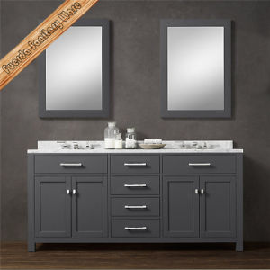 Fed-1986A Top Quality Solid Wood Bathroom Vanity Bathroom Cabinet pictures & photos
