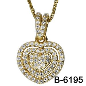 High Quality Fashion Jewelry 925 Sterling Silver Pendant with Love pictures & photos