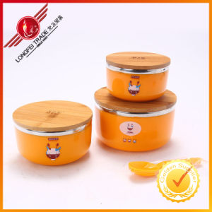 High Quality PP Material Bowls with Ss Inner pictures & photos