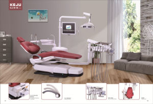 3-Memory Program Dental Chair Unit with LED Sensor Lamp pictures & photos