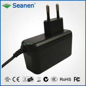 12W EU Power Adaptor (RoHS, efficiency level VI) pictures & photos