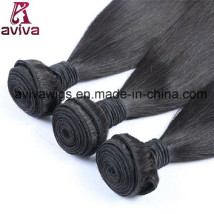 Silky Straight Wave 100% Virgin Peruvian Natural Virgin Hair Extension pictures & photos