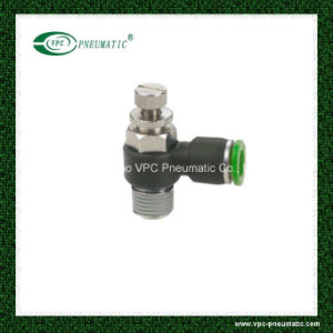 Pneumatic Push-in Fitting Speed Controller Vsc Flow Control Valve pictures & photos