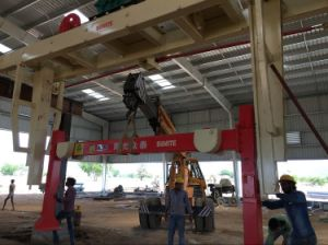 India Price AAC Block Making Machine Plant for Making Light Concrete Block Equipment pictures & photos