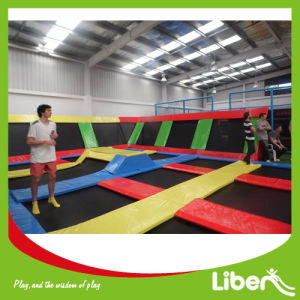 Trampoline Park for Bounce Made in China Indoor Trampoline Centre pictures & photos