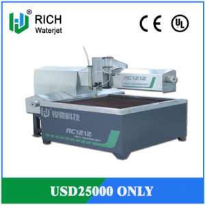 Low Price Waterjet Cutting Machine for Ceramic pictures & photos