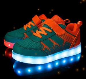 High Quality Flashing Lights Shoes pictures & photos